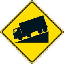 reflective-warning-signs-truck-decline-symbol-ac0589-lg